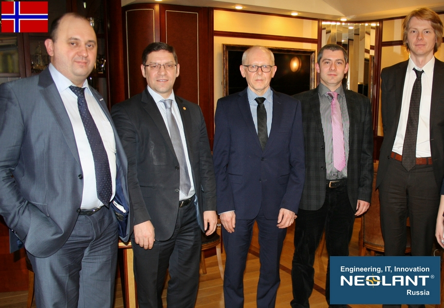 IFE (Norway) and NEOLANT (Russia): Working Meeting